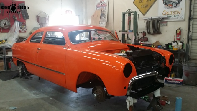 Suzanna's 1949 Ford.