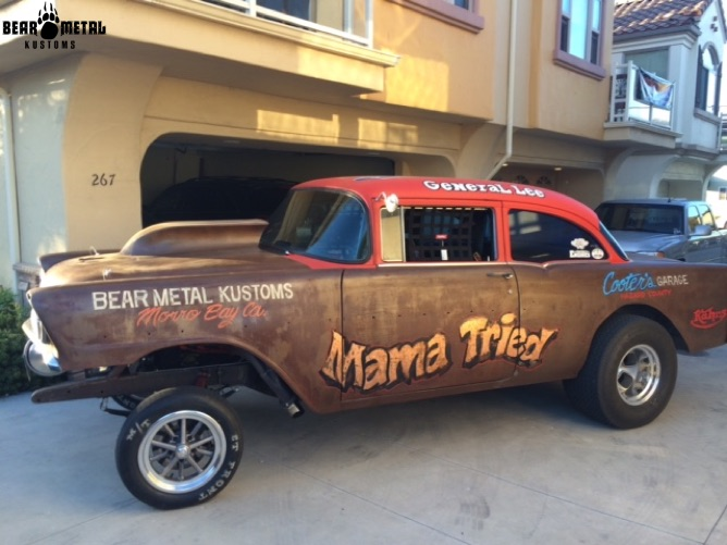 Bear Metal Kustoms :: Cars Gallery :: 56 Chevy Gasser