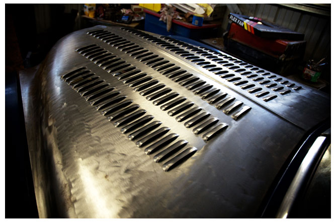 Car Paint Shop >> Bear Metal Kustoms :: Cars Gallery :: Louver Punching