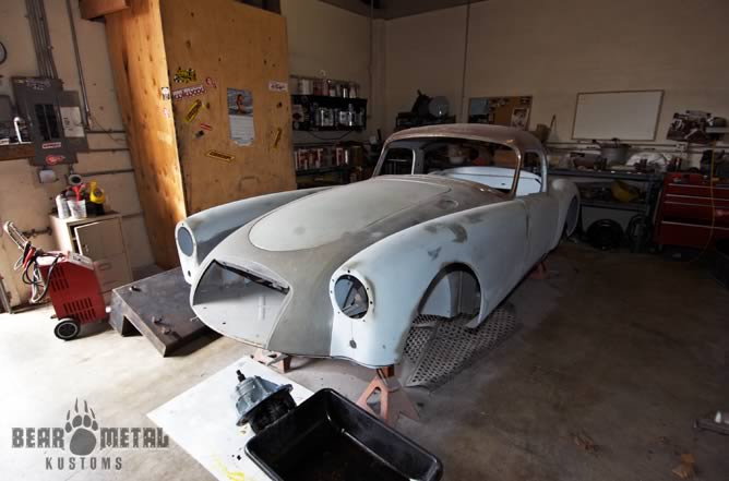 Mid State Ford >> Bear Metal Kustoms :: Cars Gallery :: 1959 MG Twin Cam Coupe